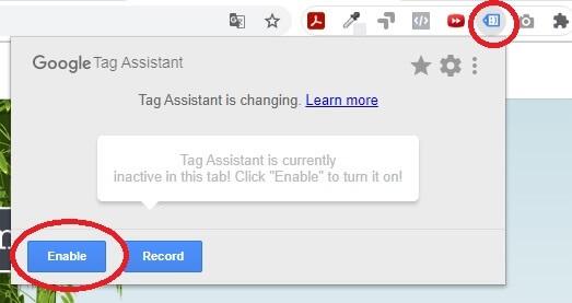Como Habilitar o Google Tag Assistant