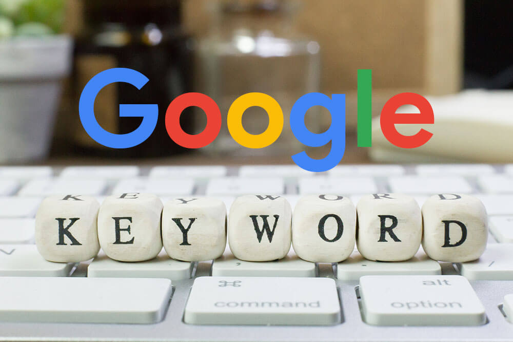 Google Keyword Planner para Website