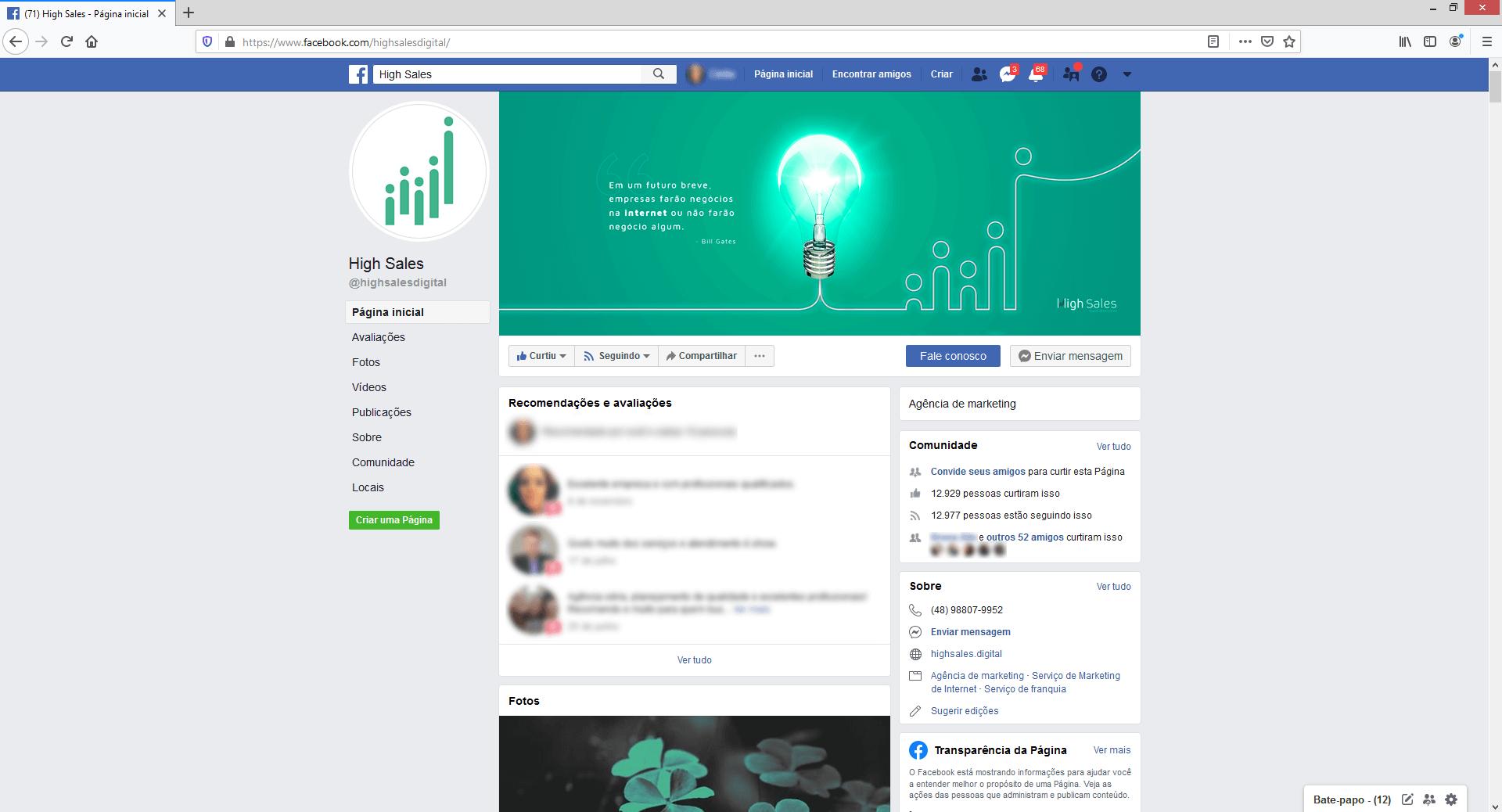 como criar um site integrado com as redes sociais