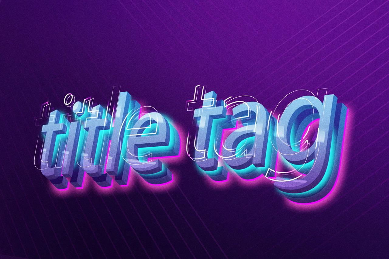 Como criar uma Title Tag
