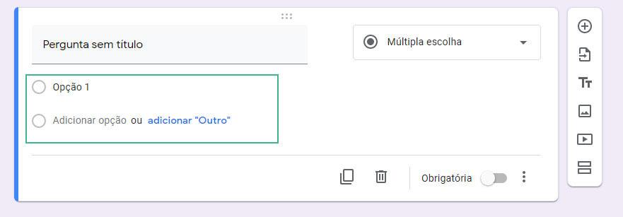 Como editar um formulario no google-forms passo cinco