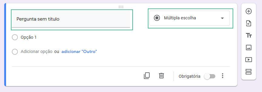 Como editar um formulario no googleforms passo quatro