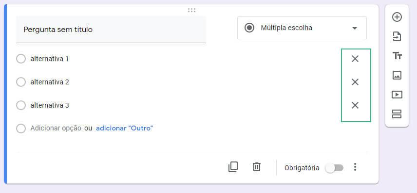 Como editar um formulario no google-forms passo seis