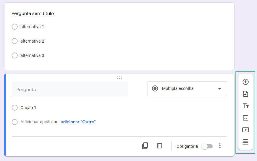 Como editar um formulario no google-forms passo sete