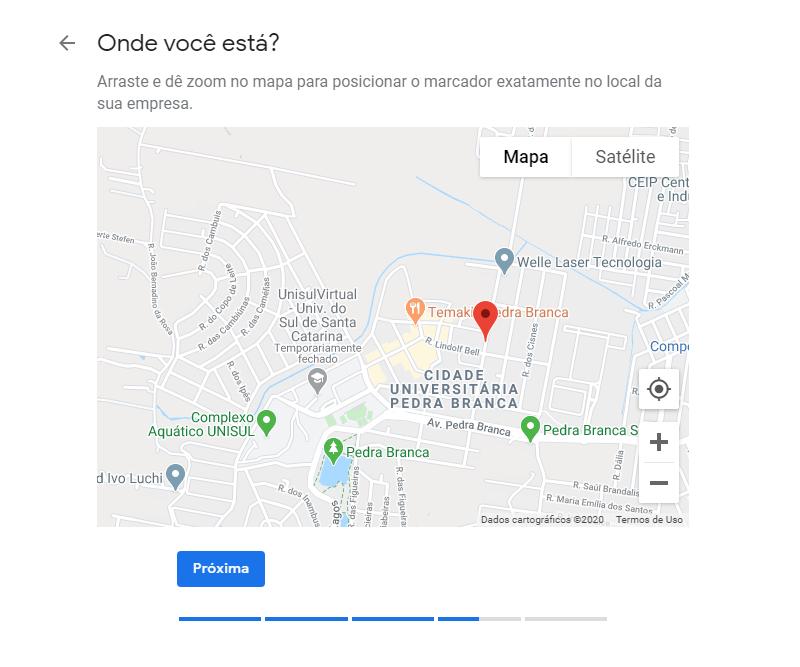 Como anunciar Google Maps passo sete