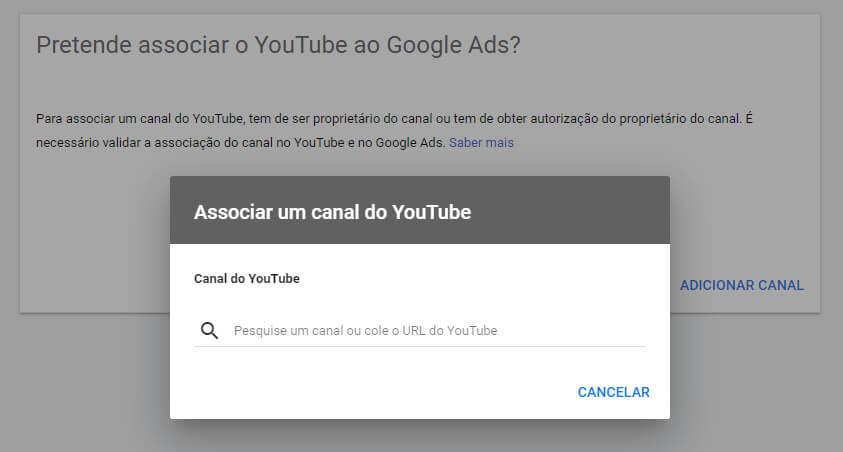 como fazer anuncio no Google YouTube - Parte 03