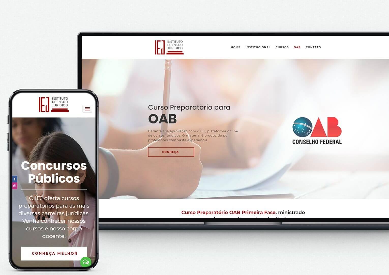 criação de site para advogados