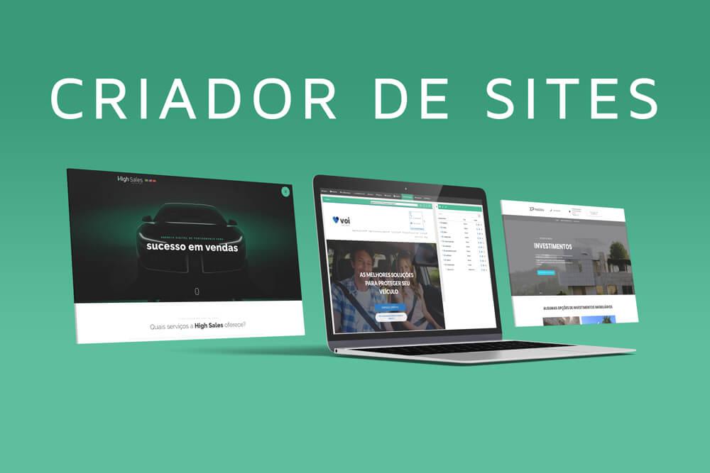 O Melhor Criador de Sites