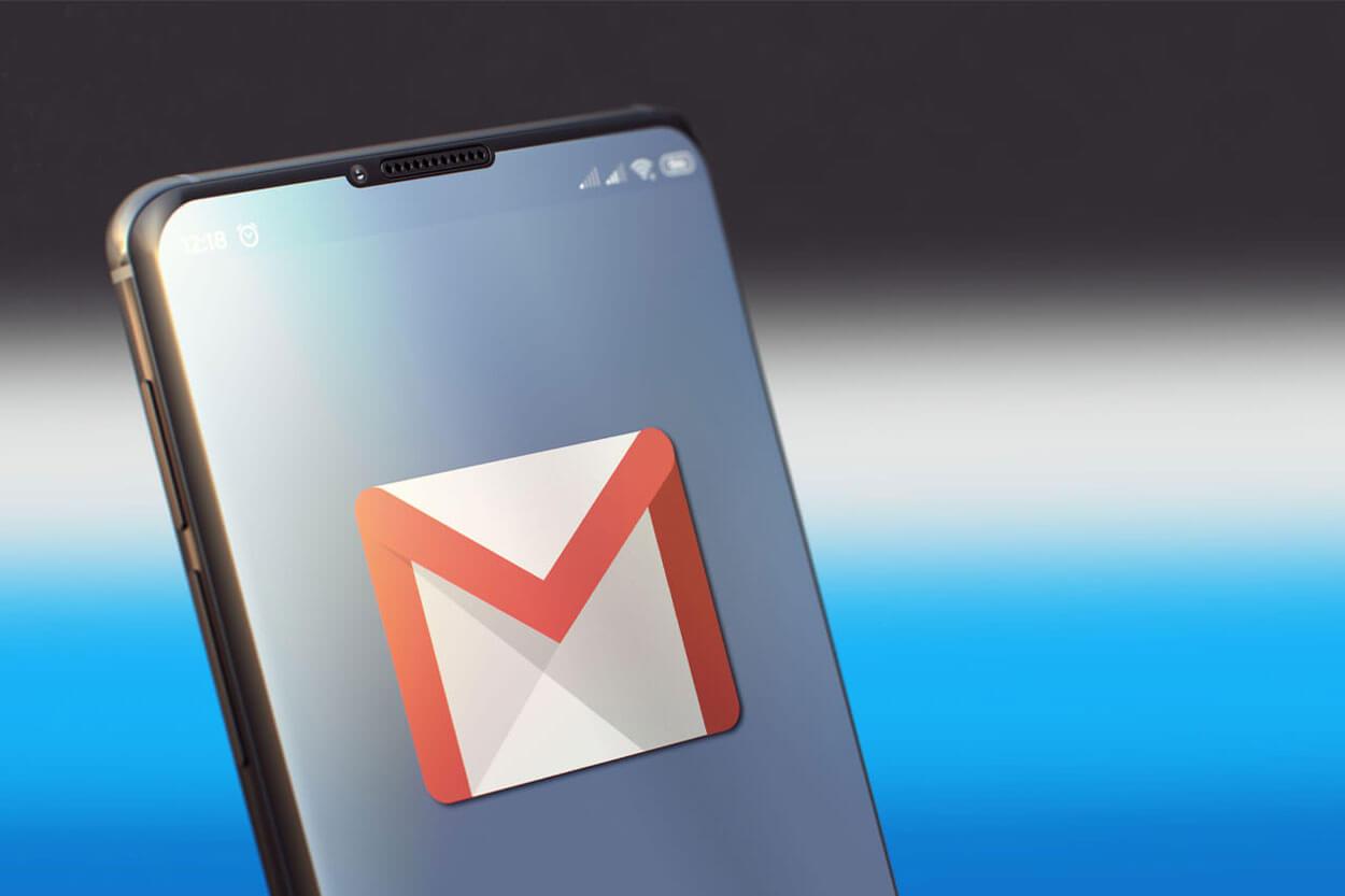 Criar email com o Google