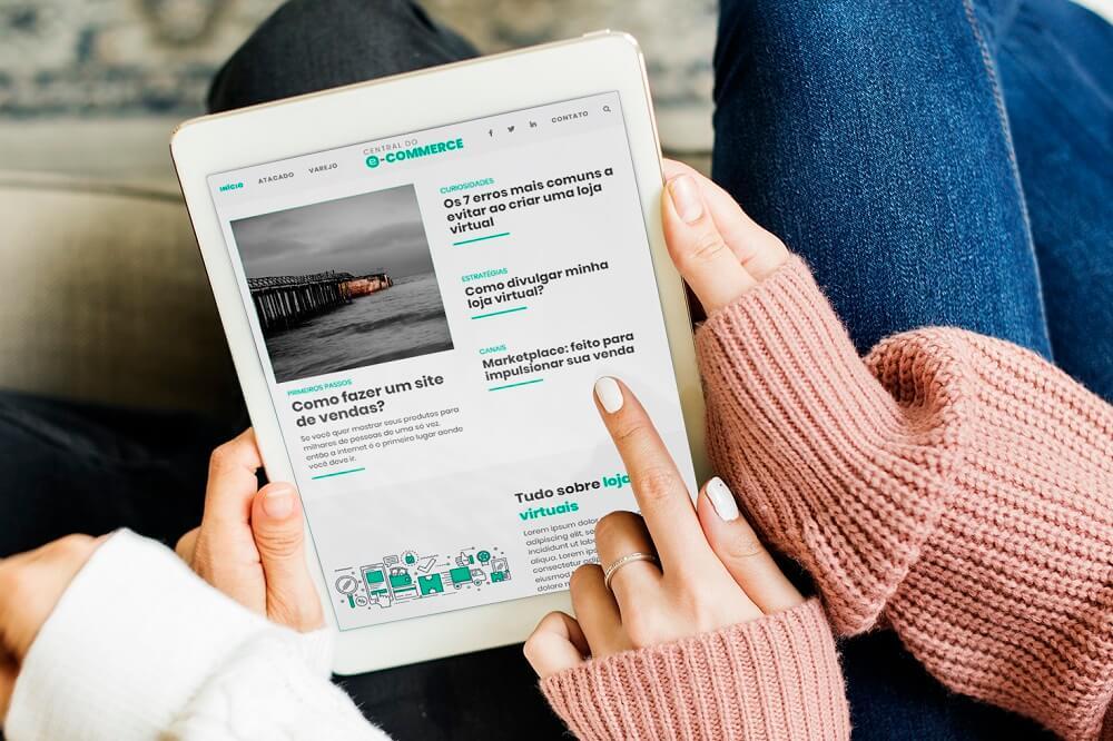 criar um portal de noticias