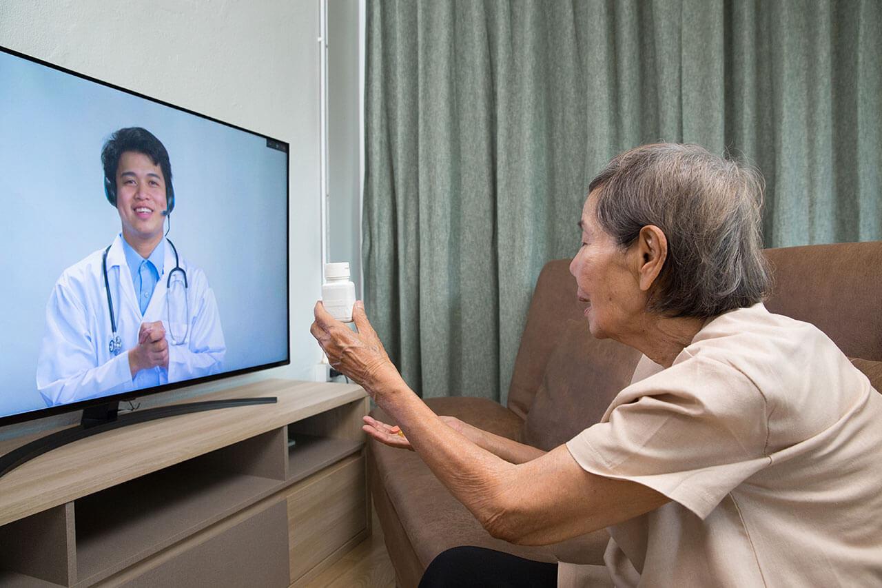 Cuidador de idosos online