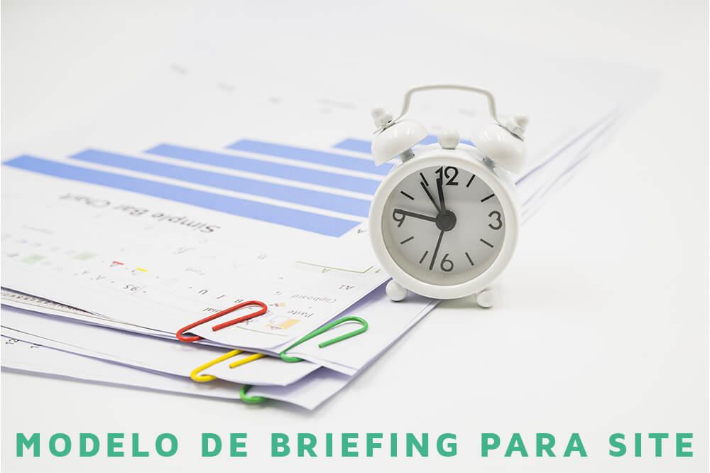 Elementos de um bom modelo de briefing para website