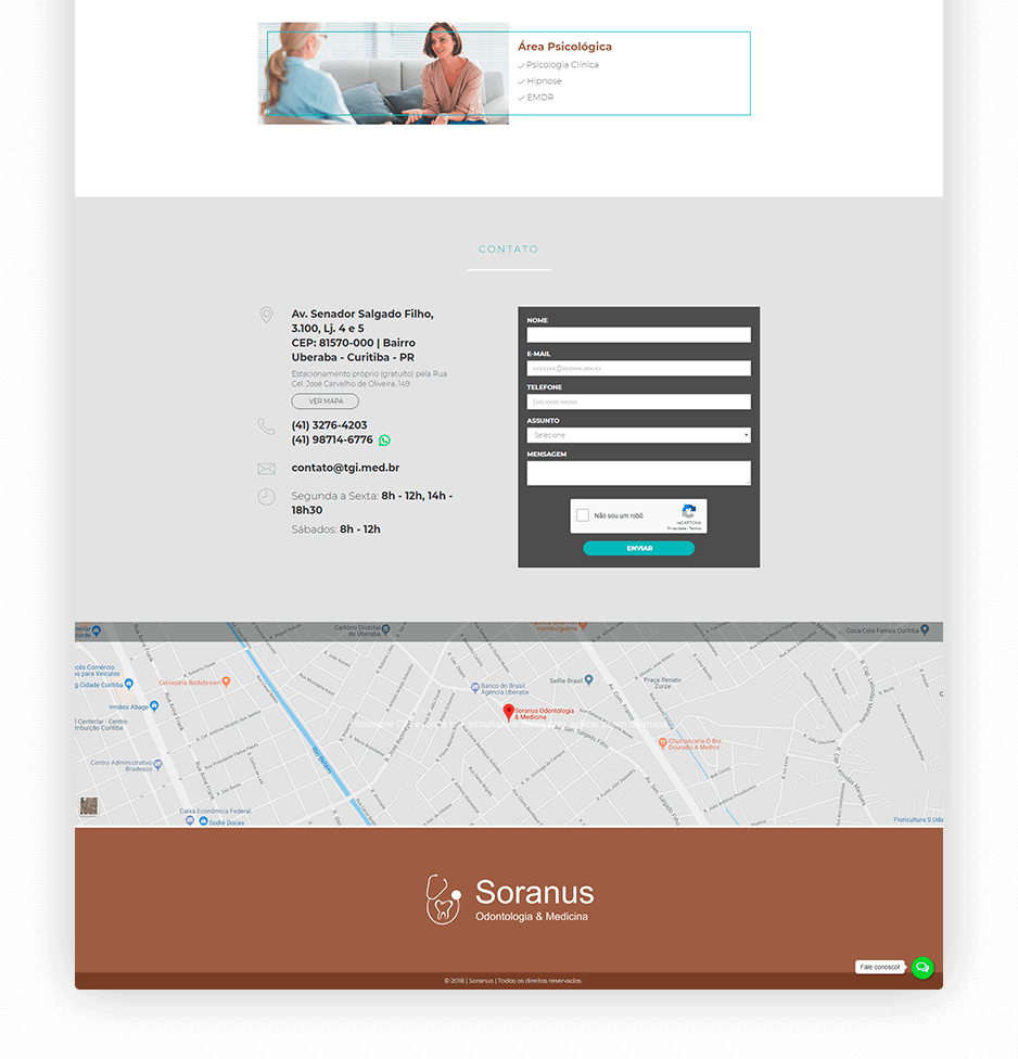 site one page