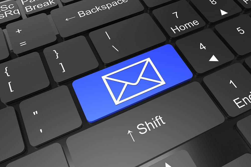 fazer um email