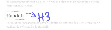 Header Tag: exemplo h3