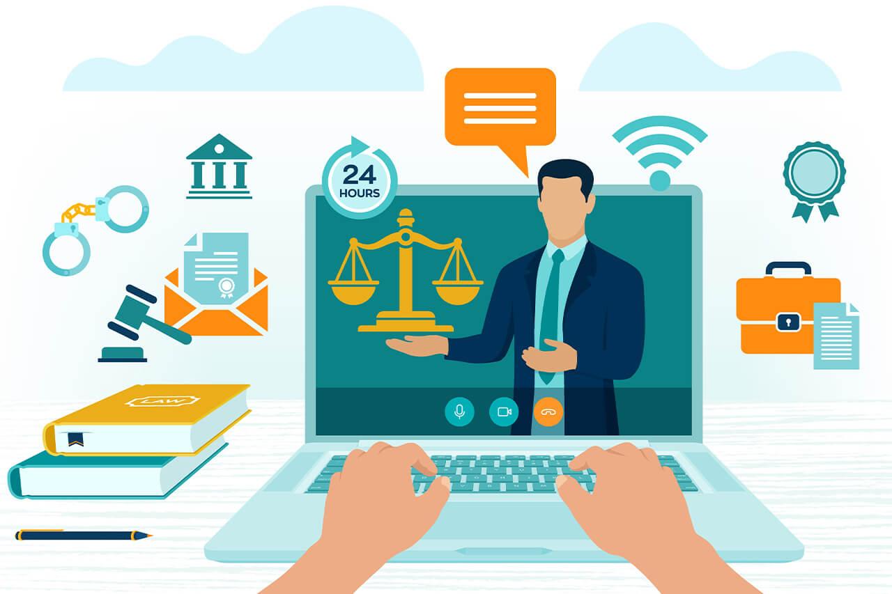 limites para a criação de sites para advogados