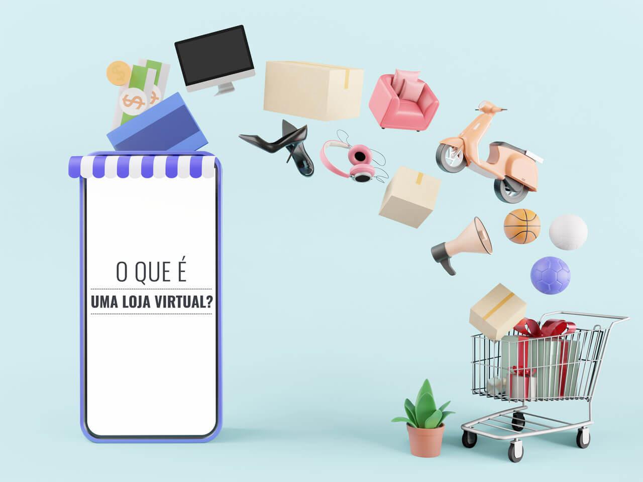 O que é loja virtual?