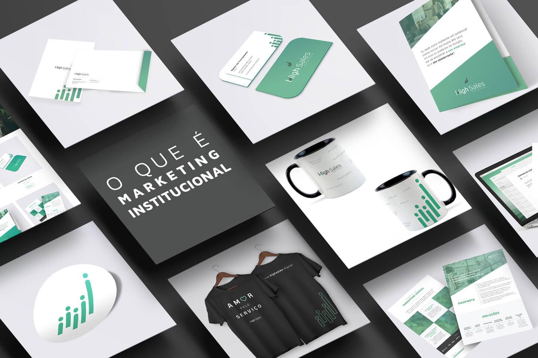 O que é marketing institucional?