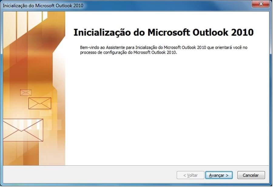Adicionar conta Outlook empresa