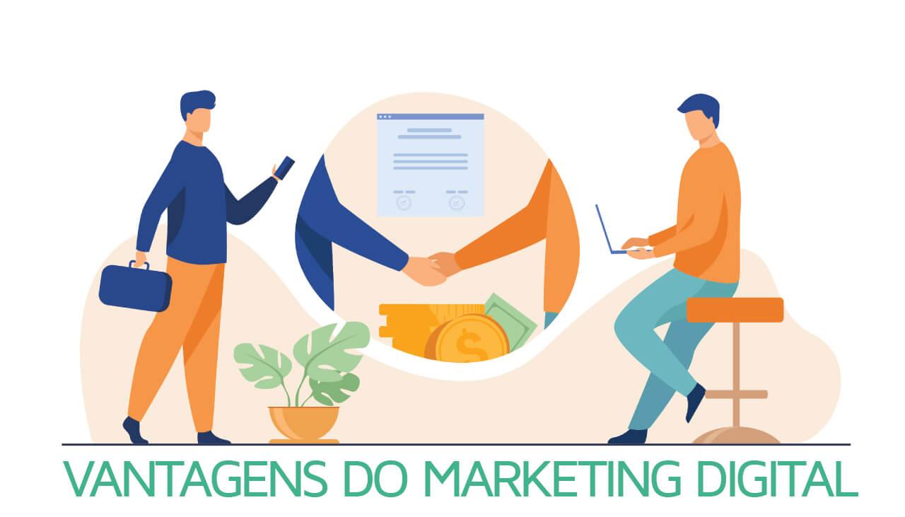 Qual a vantagem do marketing digital?