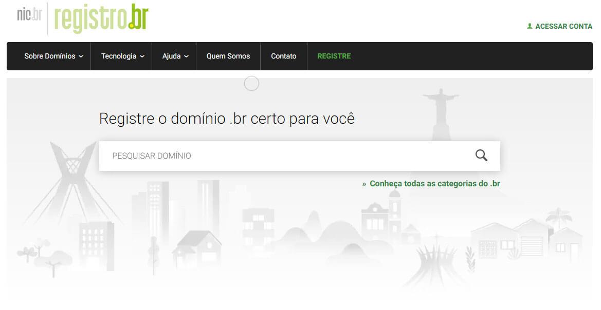 como registrar um dominio? No Registro.br
