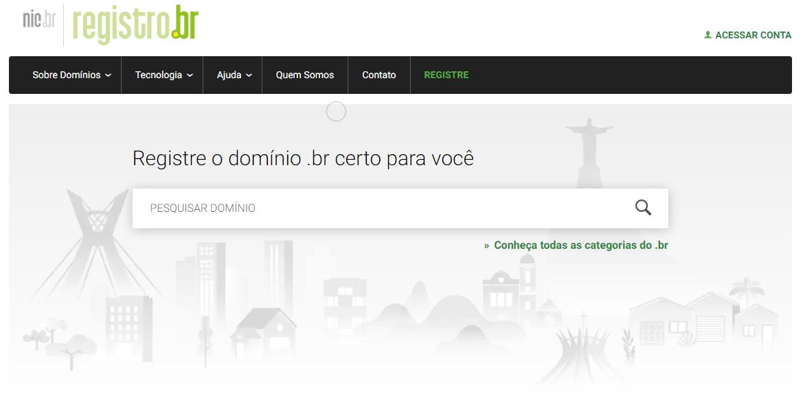 Como registrar um domínio? No Registro.br