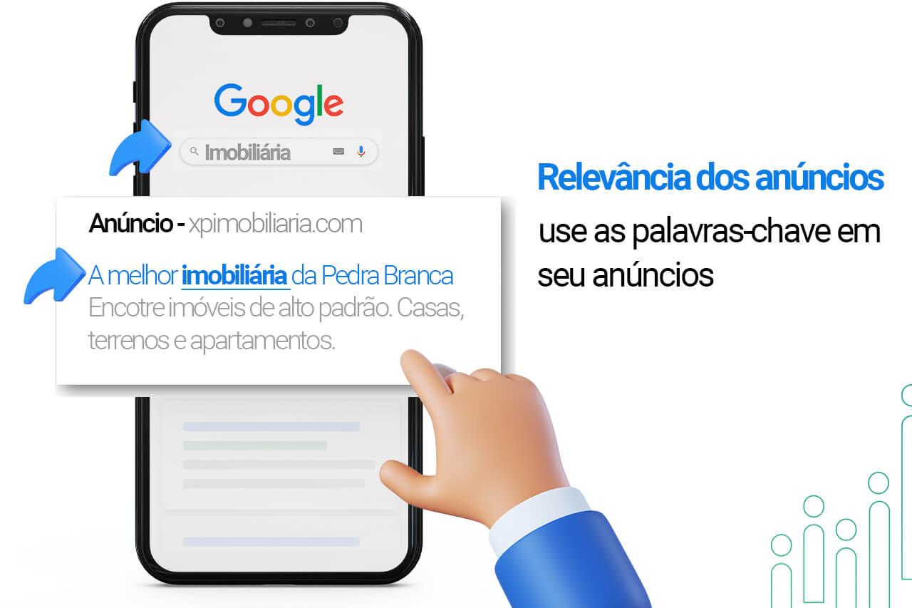 Relevância dos anúncios pode melhorar o indice de qualidade Google Ads
