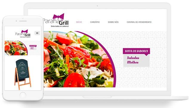 site responsivo exemplo 3
