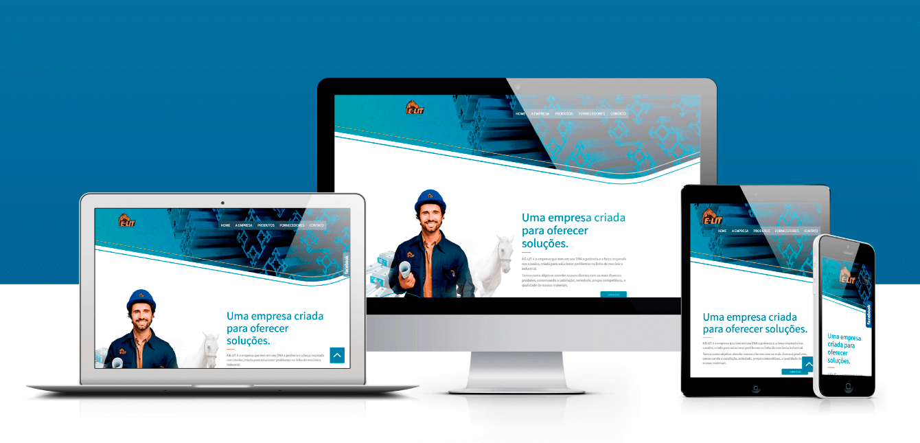 site responsivo profissional