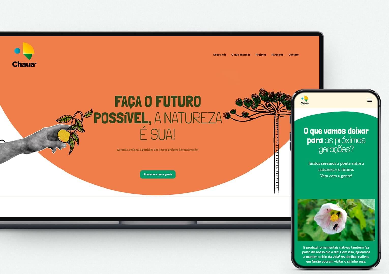 Sites criativos - Chaua