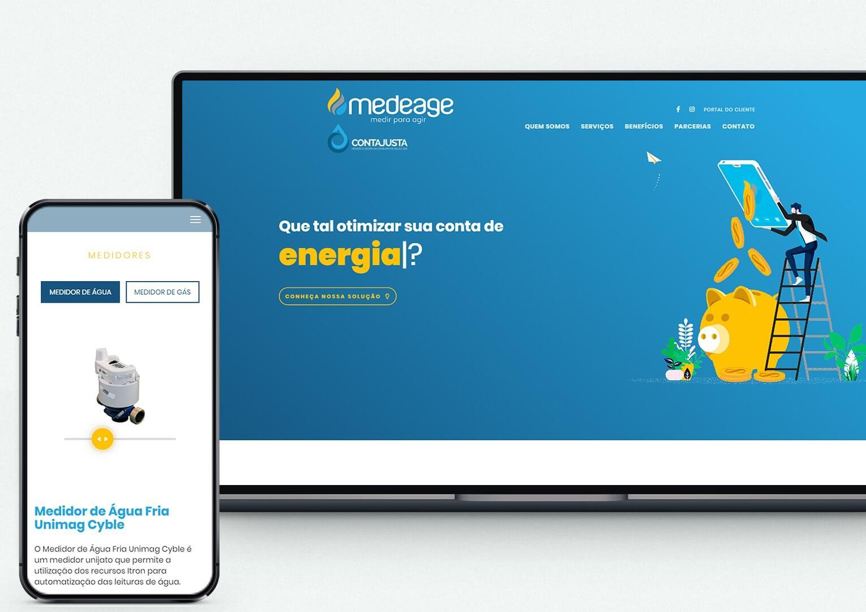 Sites criativos - Medeage