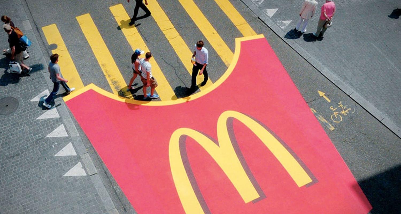 Street Marketing é outro exemplo do marketing de guerrilha
