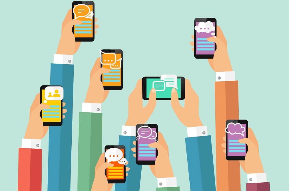 WhatsApp, Telegram ou chat?