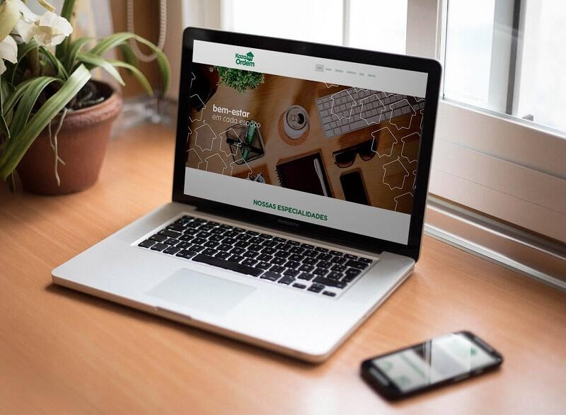 criação de sites responsivos para Kaza Em Ordem