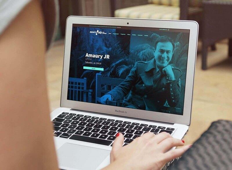 agencia de marketing digital criação de sites para Rede TV