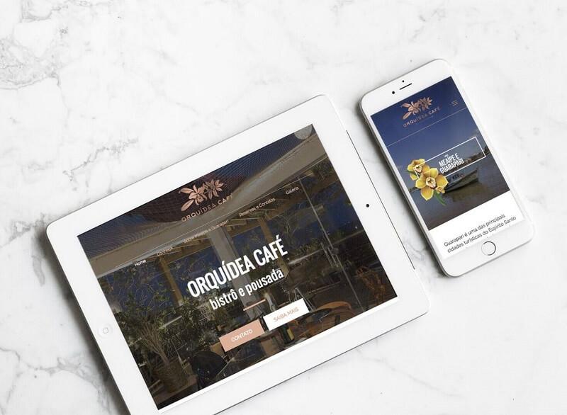 agencia de marketing digital criação de websites profissionais para Orquidea