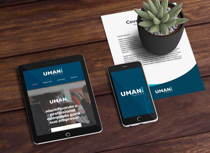 criação de marca para Umani